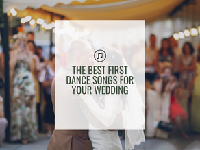 The Best First Dance Songs for Your Wedding