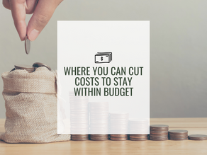 Where You Can Cut Costs to Stay Within Budget