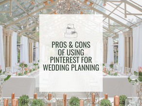 Pros & Cons of Using Pinterest for Wedding Planning