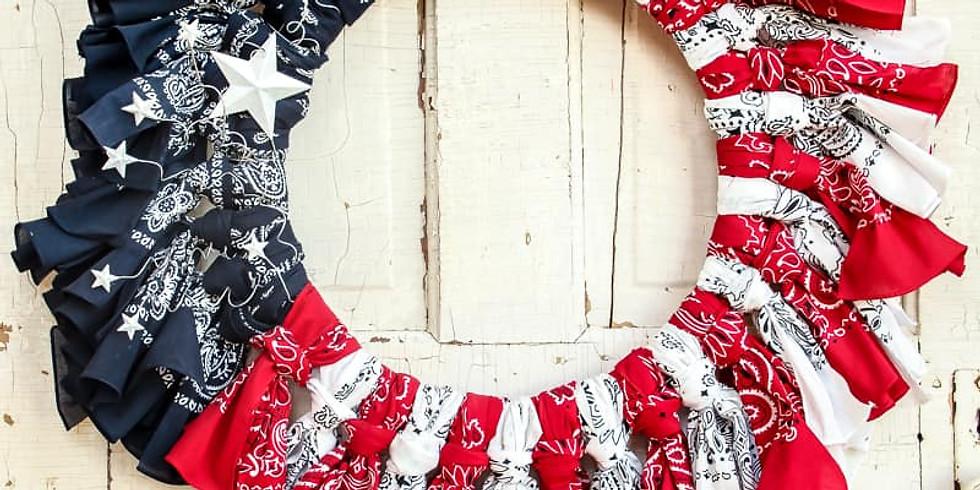 Craft & Sip: Bandana Wreath