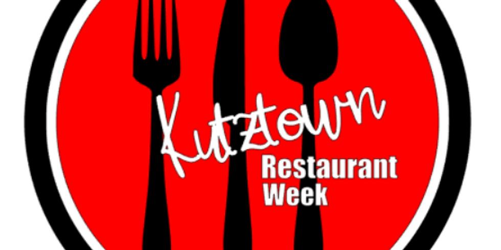 Restaurant Week Registration