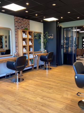 Espace coiffure du salon Naturel Coiffure
