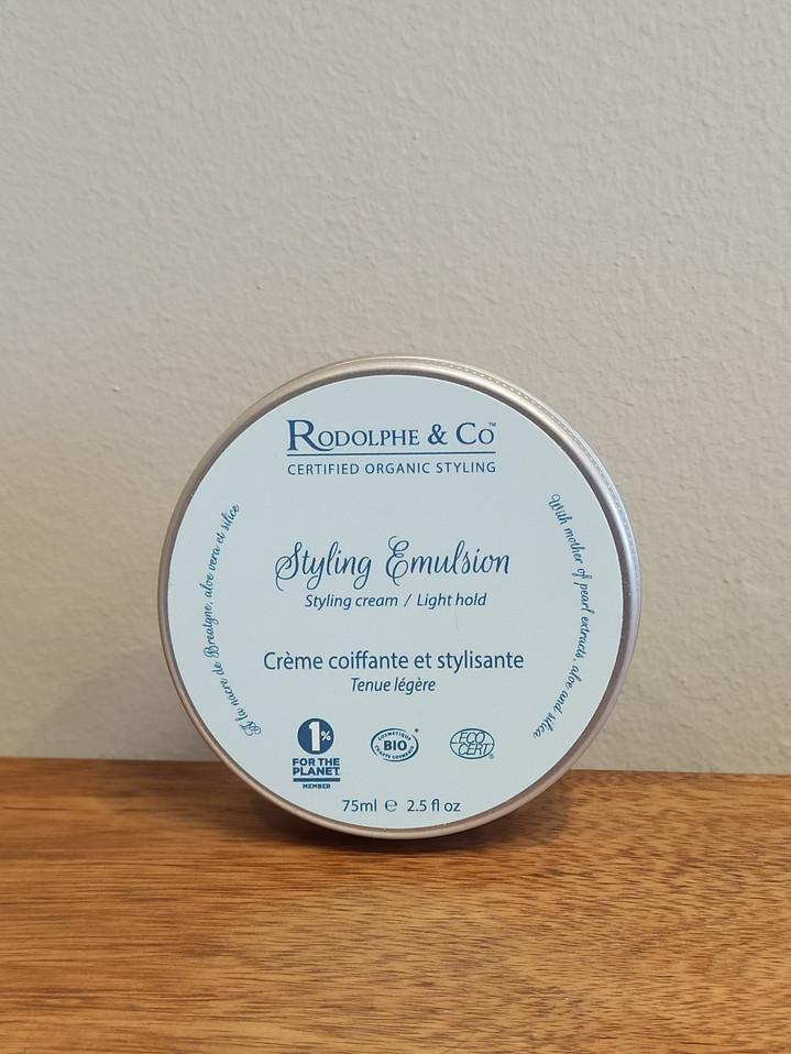 Crème coiffante Emulsion - Rodolphe & Co