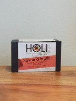 Savon d'argile rouge - Holi