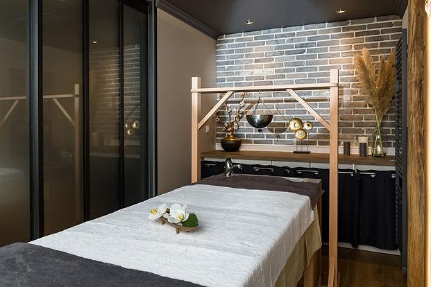 Espace massage Ayurvédique - Table de m
