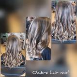 Ombré hair miel - Salon Naturel Coiffure