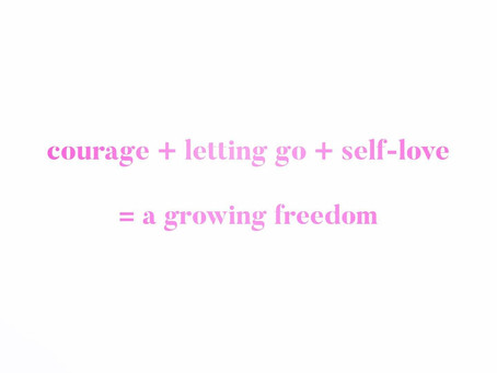 Reinvention & Letting it Go