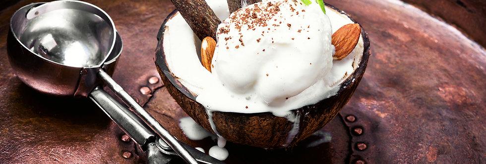 Sorvete de Coco Premium (pote 07 litros)