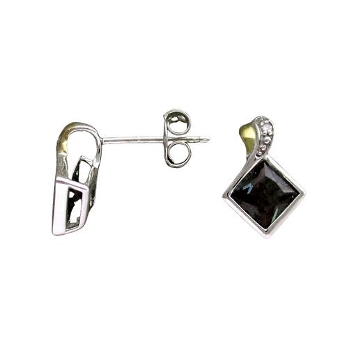Alexandrite/Diamond Earrings (14K)