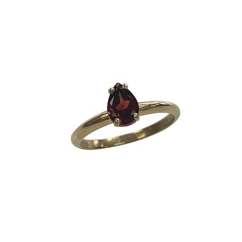 Garnet Ring (10K)
