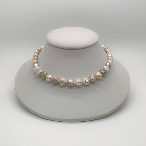 """17"""" Pearl Necklace (925)"""