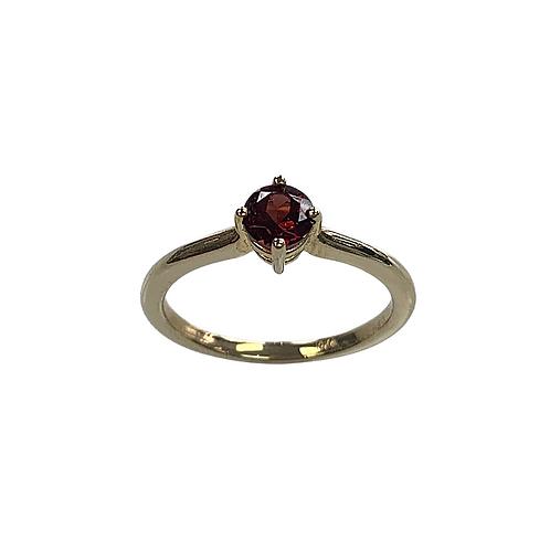 Mozambique Garnet Ring (10K)
