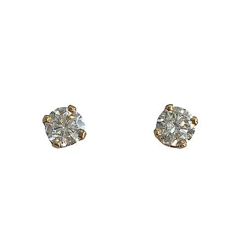 Diamond Stud Earrings (10K)