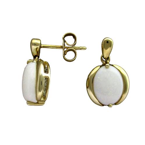 Opal Earrings (14K)