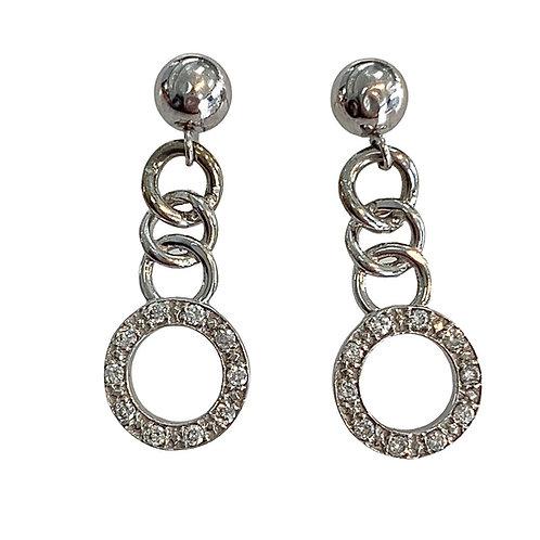 Diamond Earrings (14K)