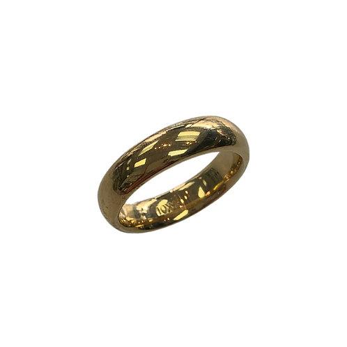 Yellow gold band (10K)