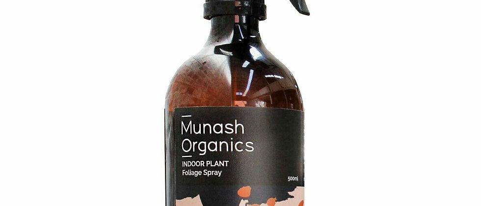 Munash Organics - Indoor Plant Foilage Spray