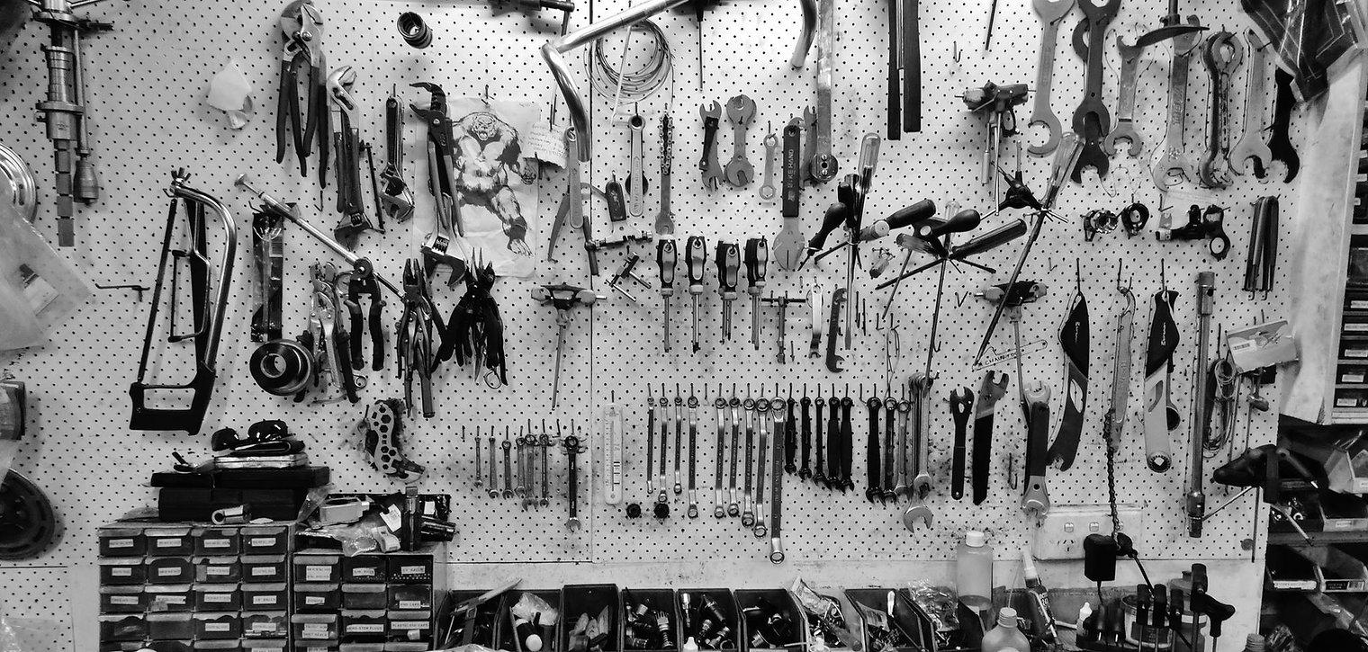Bike tools and workshop