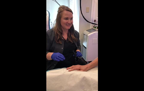 Watch Trista perform an entire IPL Laser treatment.