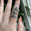 Thumbnail: Moonstone Bee Ring