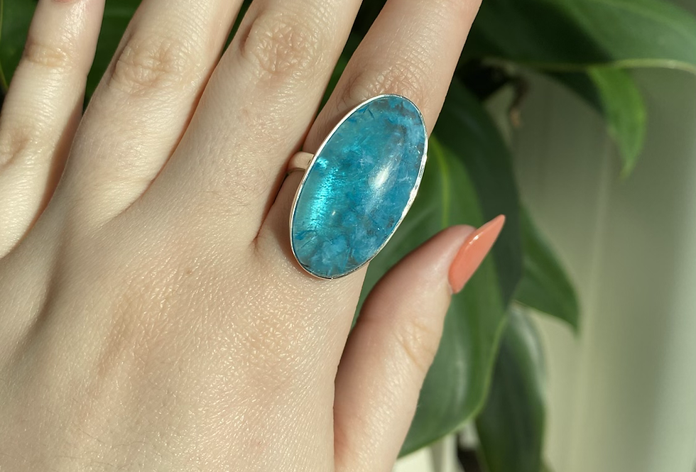 Smithsonite Ring