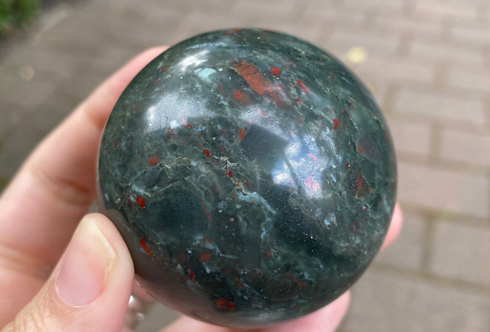 Bloodstone Jasper Sphere #7
