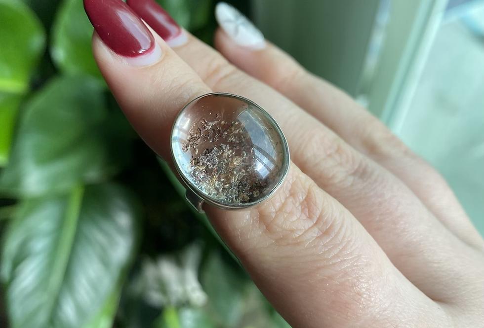 Garden Quartz/Lodalite Ring
