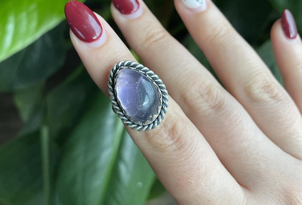 Kunzite Ring