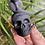 Thumbnail: Black Obsidian Snake Skull