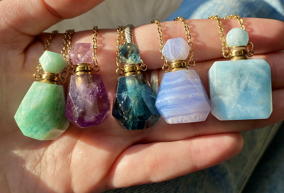 Essential Oil Bottle Necklace (will be restocked soon!)