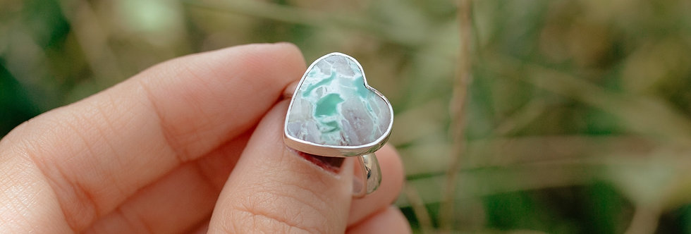 Varascite Heart Ring