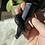 Thumbnail: Black Obsidian Snake Dagger #3