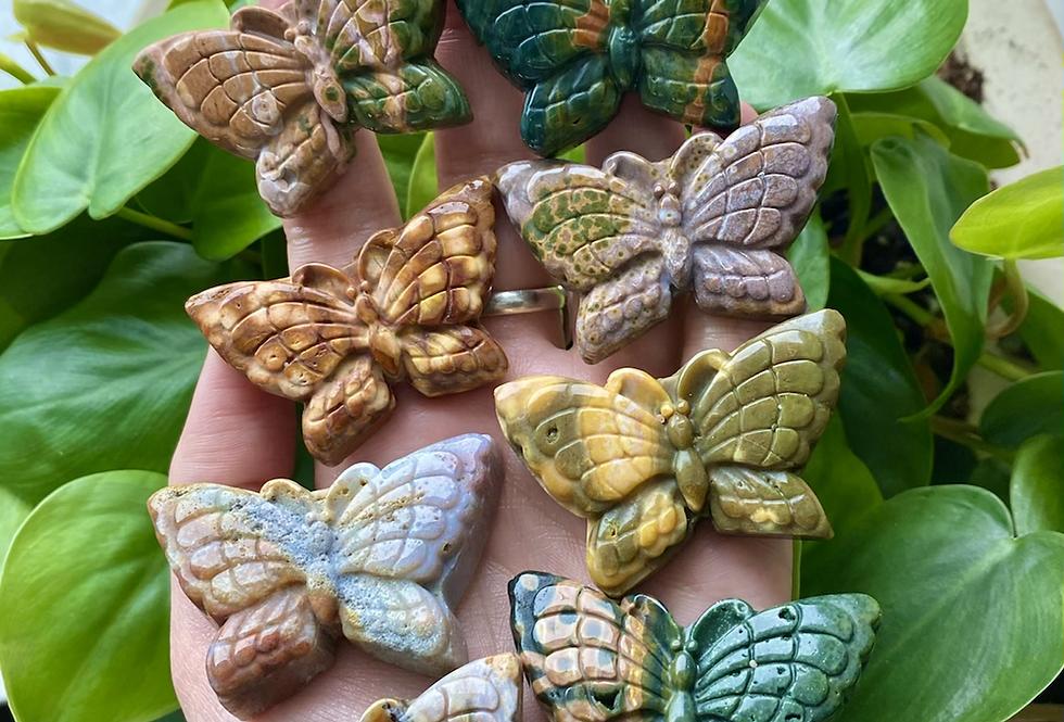 Ocean Jasper Butterfly