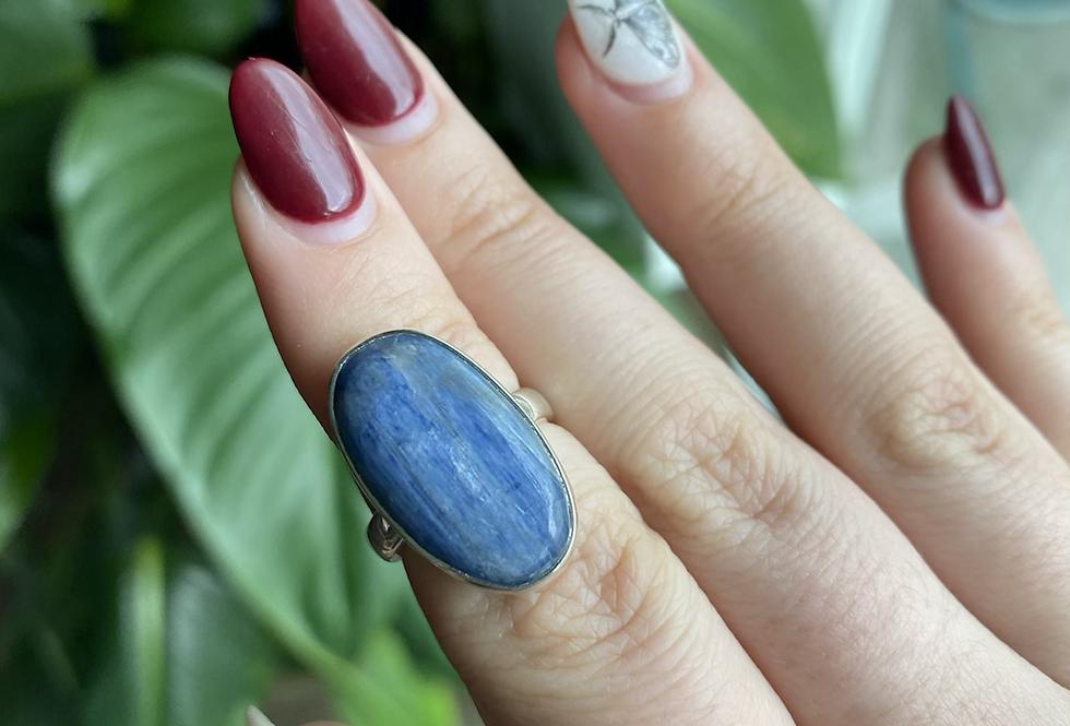 Blue Kyanite Ring