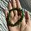 Thumbnail: Nephrite Jade Beaded Bracelet