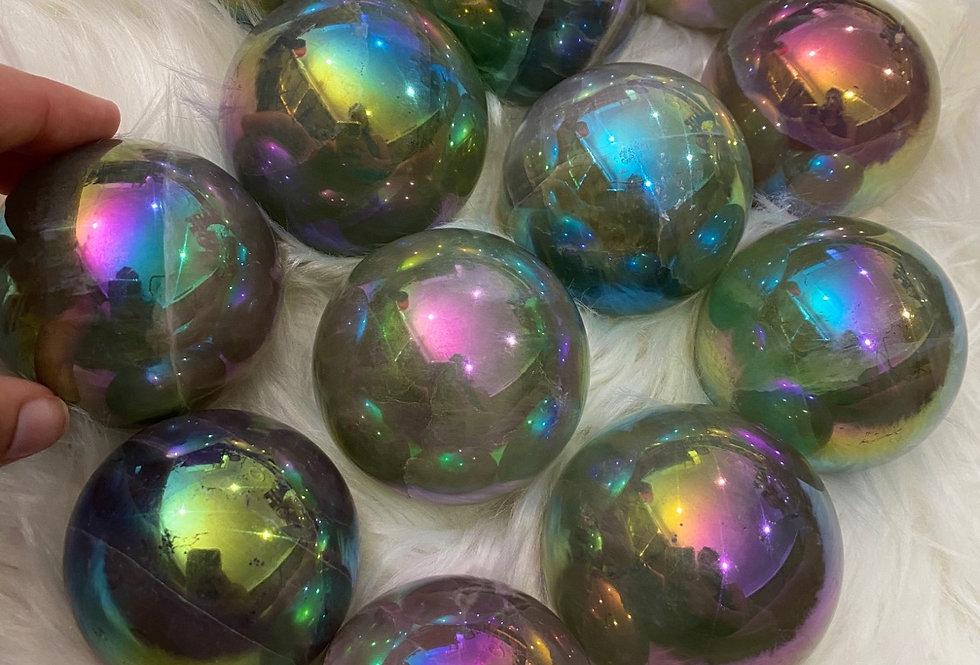 Aura Quartz Sphere