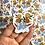 Thumbnail: Crystal & Flower Sticker Set
