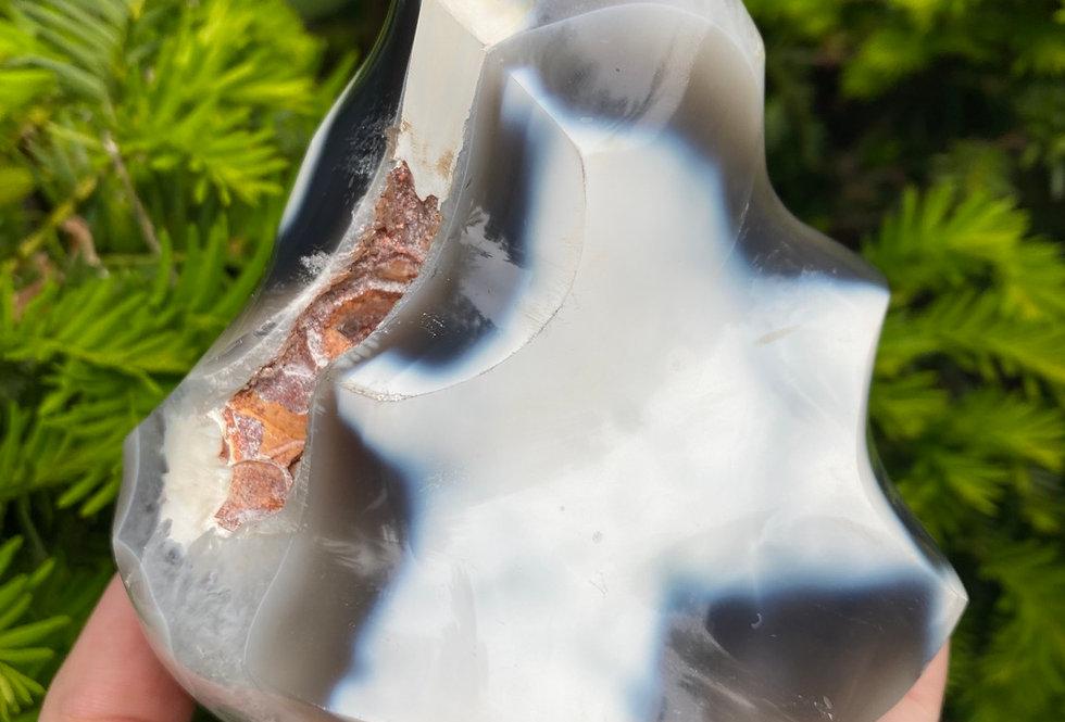 Orca Agate Flame #4
