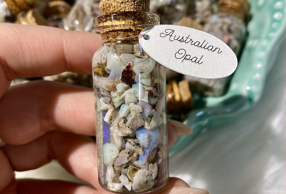 Australian Opal Vial
