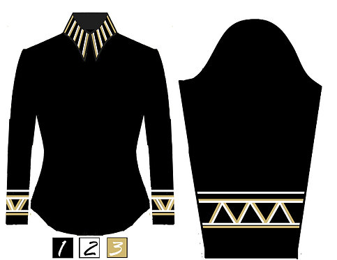 Simple Chic: Black - White - Gold