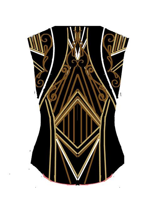 Black - White - Gold - Rust: Designer Code: SLKJ