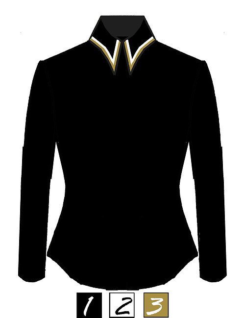 Simplistic and classy Top - Collar Detail - Customizable