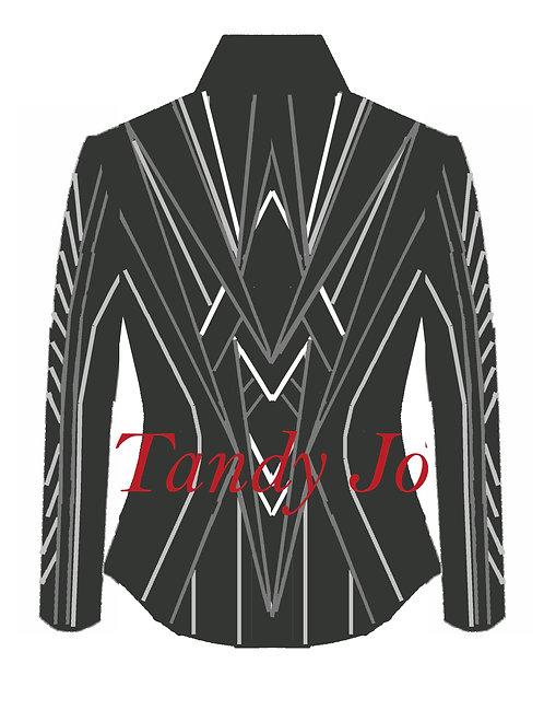 Grey Tones - Silver - White: Designer Code: MDVQ