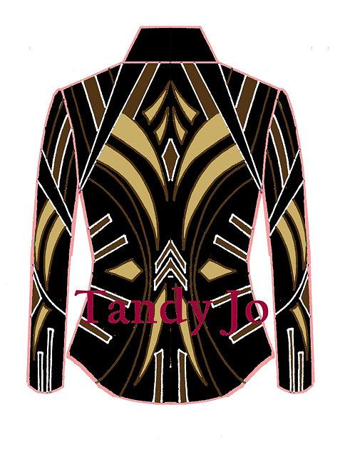 Black - White - Camel - Bronze: Designer Code: PRCM