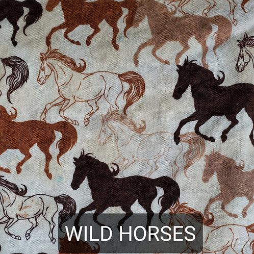 Face mask - Wild Horses