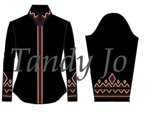 Simple Chic Top: ZZZ18 - Black, Aubergine, Sand, Chocolate