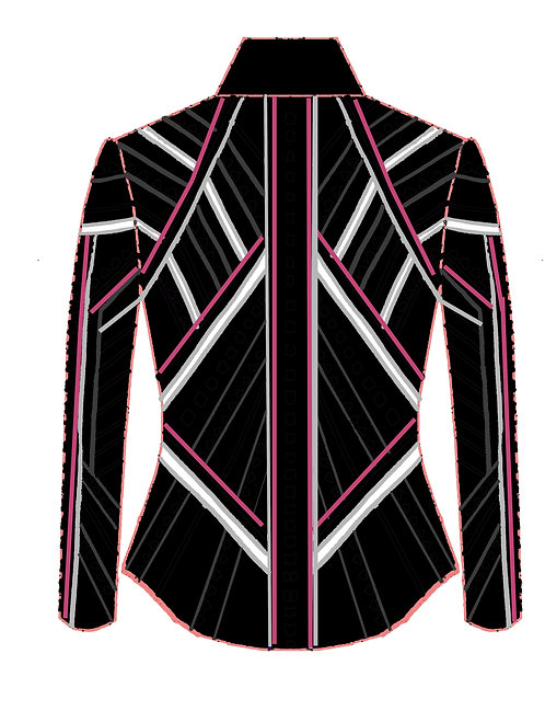 Black - White - Silver - Charcoal - Orchid Pink: Designer Code: BRXU