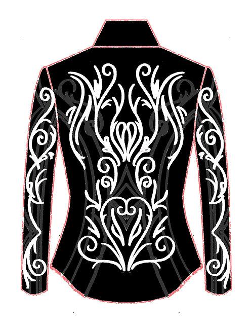 Black - Charcoal - White: Designer Code: YCYT
