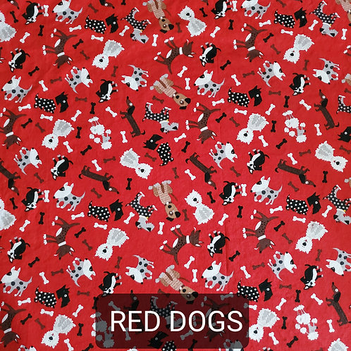 Face mask - Red Dogs