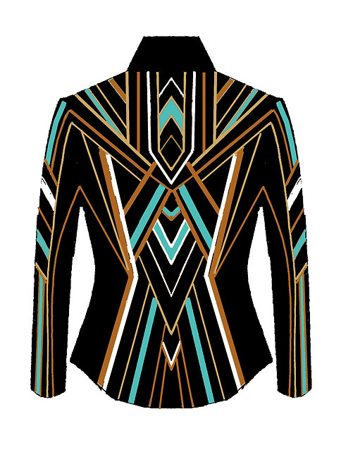 Black - Gold - British Tan - Turquoise - White: Designer Code:ZWMD